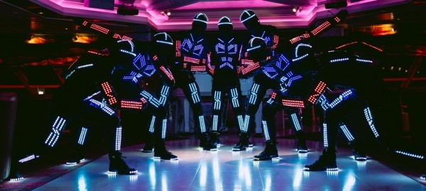 Led Dancers difference with tron dancers