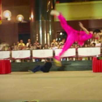 Wushu Performance - Aerial Flips