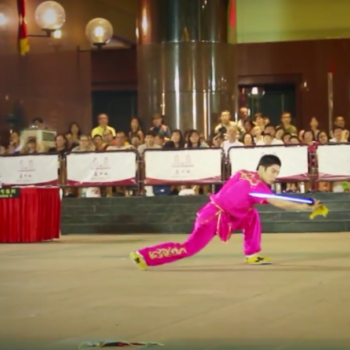Wushu Sword Performance