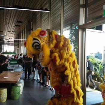 cheap lion dance performance and bian lian Singapore