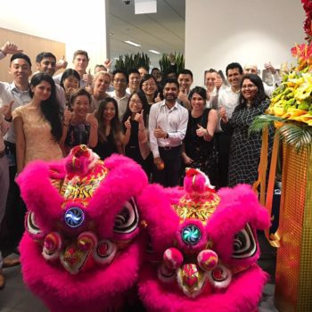 lion dance for opening ceremony performance and mask/face changing performance
