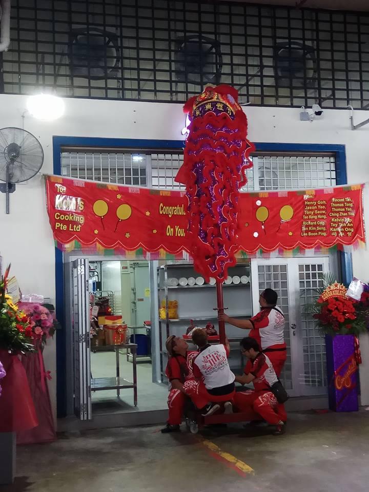 lion dance singapore