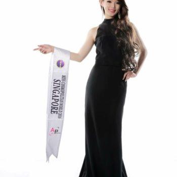 Melissa Singapore Models Miss Cosmopolitan World Singapore
